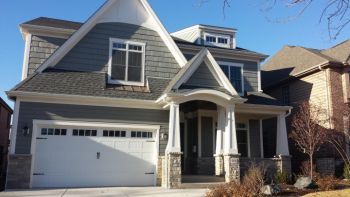 Exterior House Painting by B.A. Painting, LLC in Aurora, IL