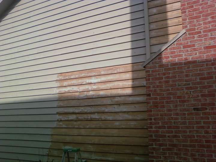 Before and After Exterior Painting in IL
